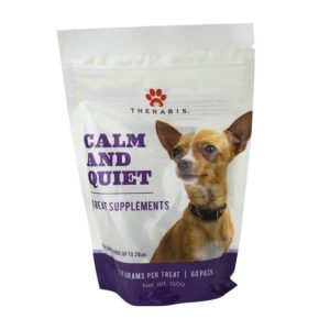 Therabis CBD Dog Treats - Calm and Quiet small Dogs
