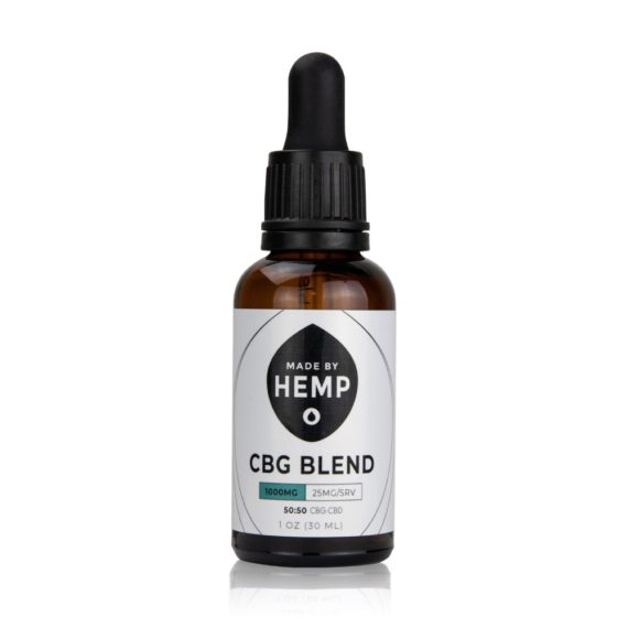 cbg and cbd oil